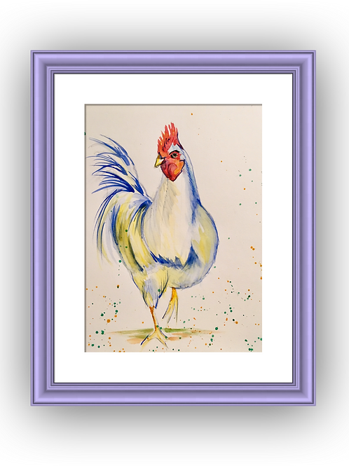 Gerty, Original Watercolour