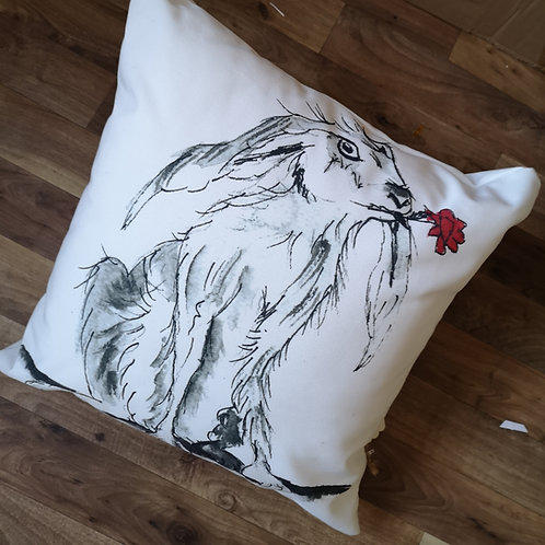 Horatio,  Cotton Canvas Cushion