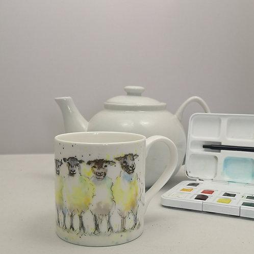 The Flock Mug & Print Offer