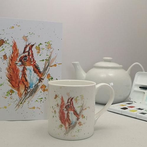 Twiggy Squirrel Mug & Print Offer