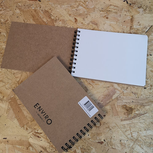 ARTWAY Enviro Spiral Bound Recycled Sketchbooks - 170gsm