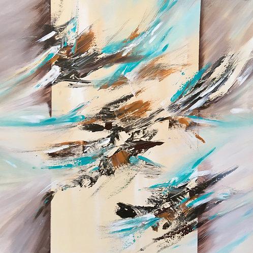Kenesis, Acrylic on Deep Canvas