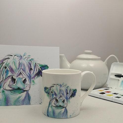 Blue Moo Mug & Print Offer