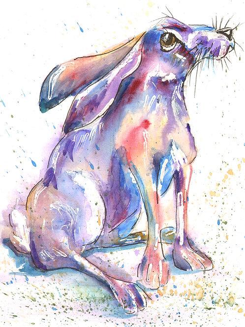 Day Dreamer, Watercolour Print