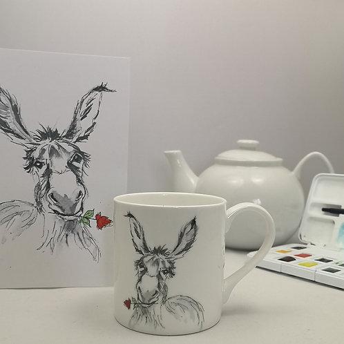 Dante Donkey Mug & Print Offer