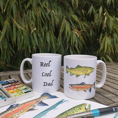 Father's Day Fishing Mug