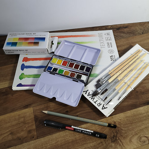 Watercolour starter kit