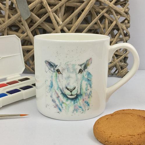 Dolly the sheep, Bone China Mug
