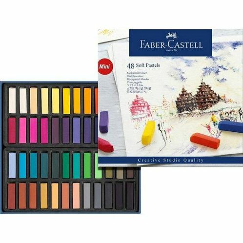 Faber Castell Half Length Pastels 48pk