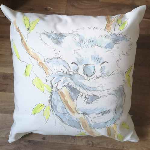 Kola Koala Cotton Canvas Cushion
