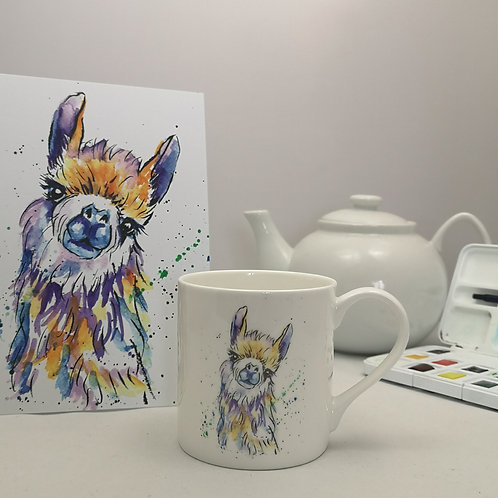 Lucy Llama Mug & Print Offer