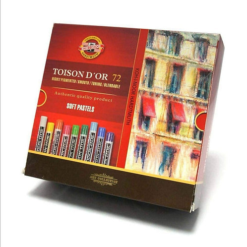 Toison D'or Soft Pastels Assorted 72