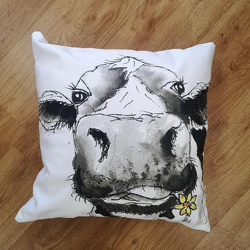 Camilla Moo, Cotton Canvas Cushion