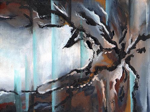 Spilia (Cave), Acrylic on Deep Canvas