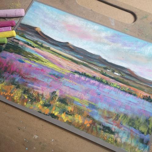 Lavender Fields Pastel Tutorial