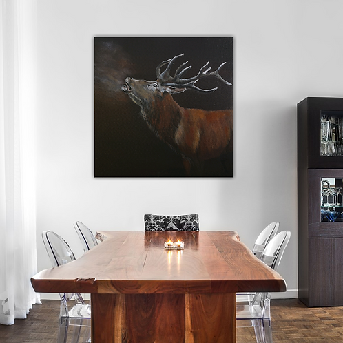 Call of the Wild- Signed Giclee Canvas Print