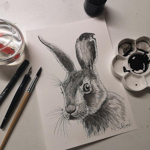 Halrith Hare Ink Tutorial
