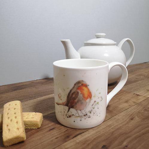 Rosie Robin bone china mug
