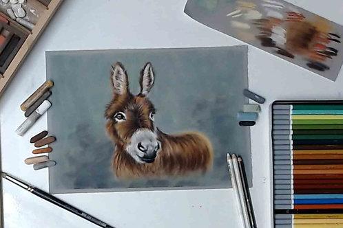 Donkey Pastel Tutorial