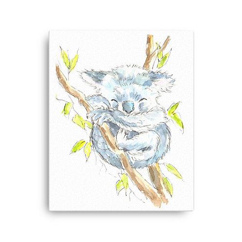 Kola Koala,  Canvas Print