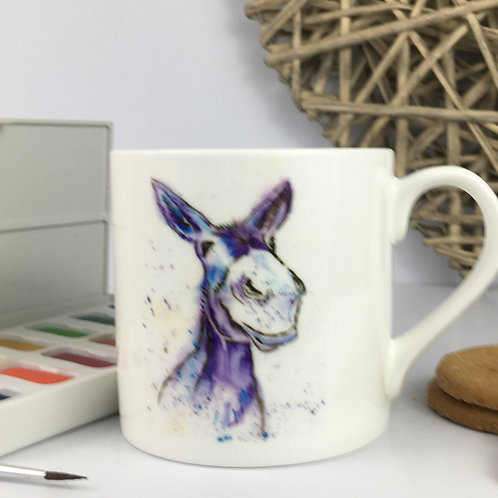 Pedro the Donkey, Bone China Mug