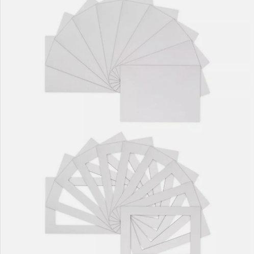 Ice white single mounts