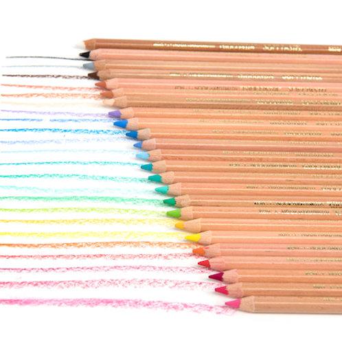 Koh-I-Noor Gioconda 24 Soft Pastel Pencils