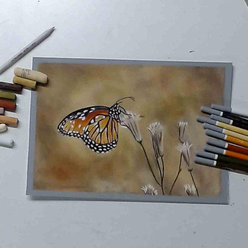 Butterfly Pastel Tutorial
