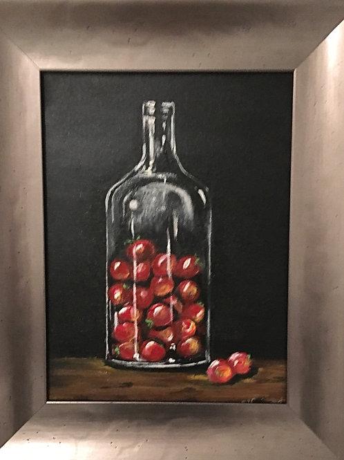 It's not Heinz , Original Acrylic Framed Painting