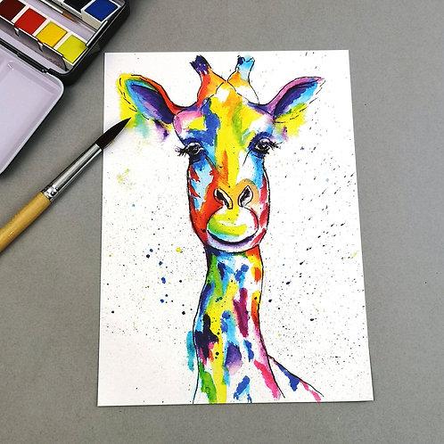 Flower, Watercolour Print