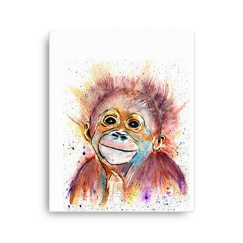 Monkey Business,  Canvas Print