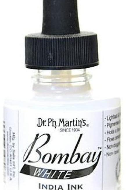 Dr PH Martin White Bombay Ink
