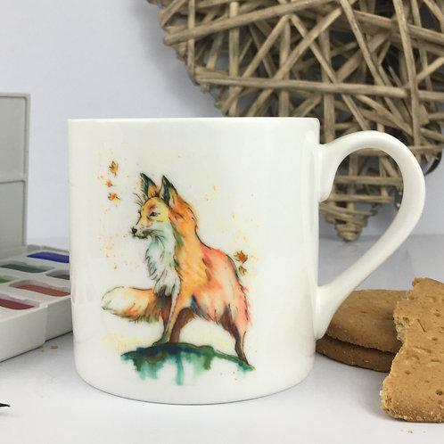 Pack Leader the Fox, Bone China Mug