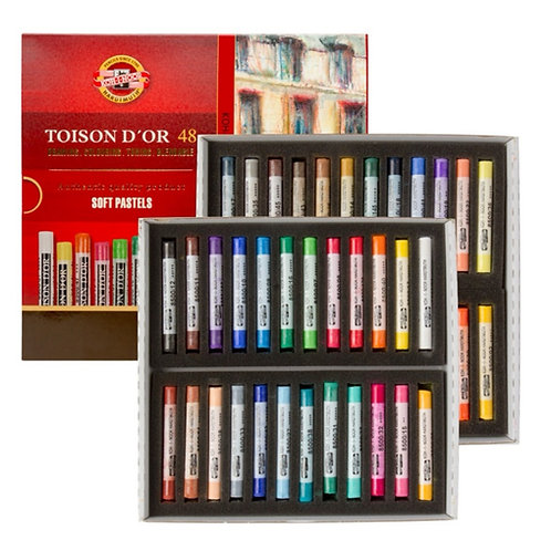 Toison D'or Soft Pastels Assorted 48