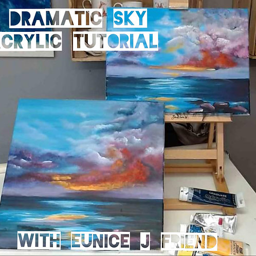 Dramatic Sky Painting Tutorial