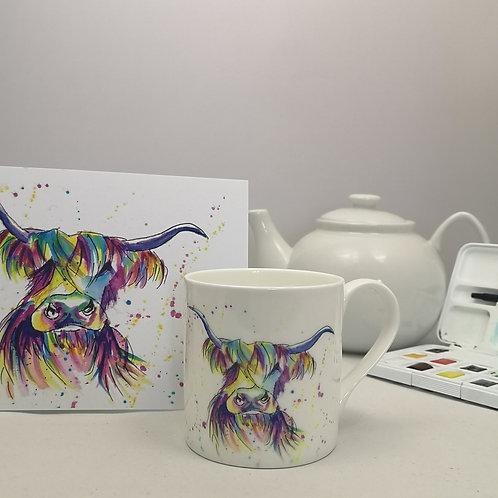 Rainbow Moo Mug & Print Offer