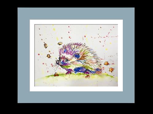 Henrietta Hedgehog, Original Watercolour