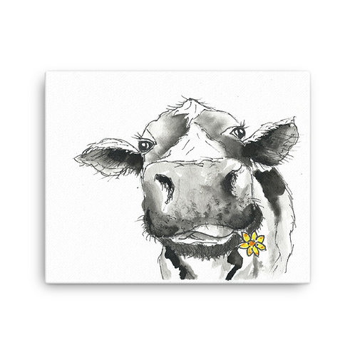 Camilla Cow  Canvas Print