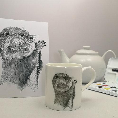 Oscar Otter Mug & Print Offer