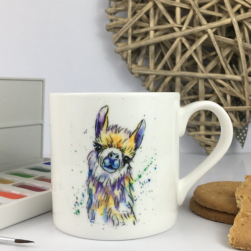 Lucy the Larma, Bone China Mug