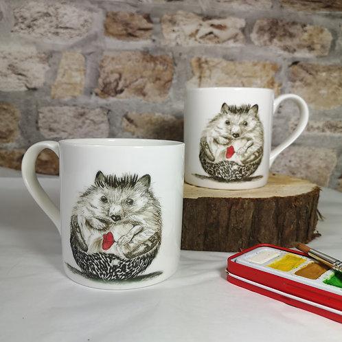 Hedgehog, Bone China Mug