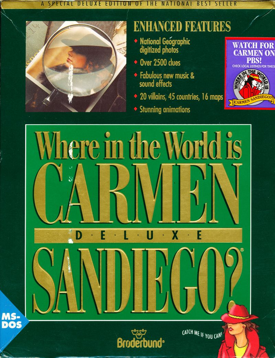 S3 EP2: Where in the World Is Carmen Sandiego?