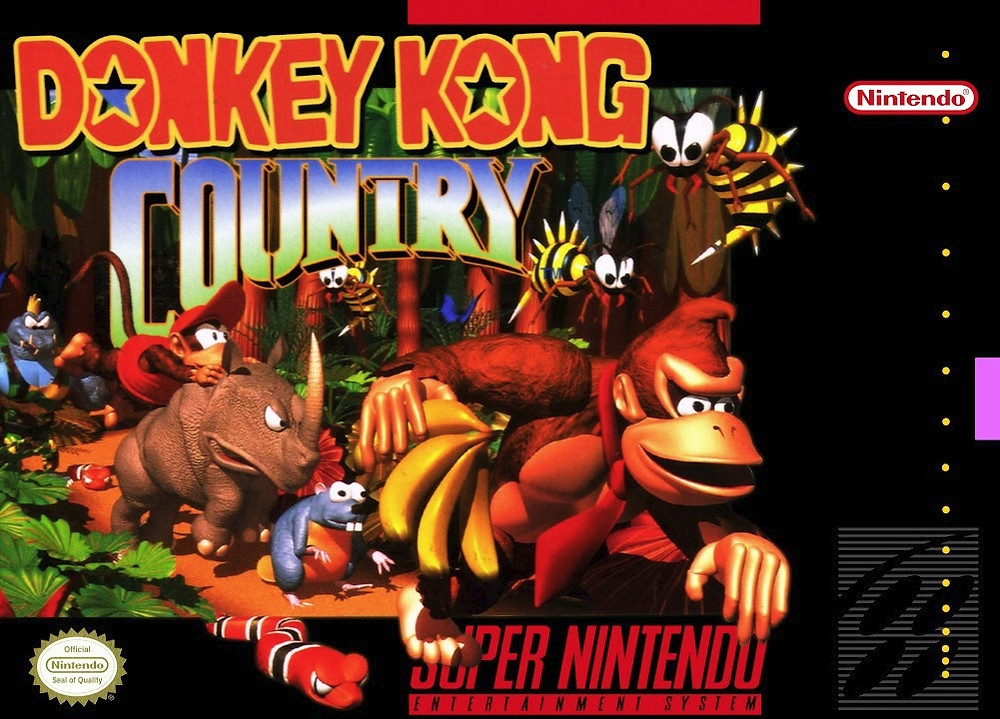 Donkey Kong Country for the SNES