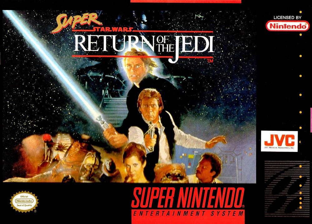 Super Star Wars Return of the Jedi SNES