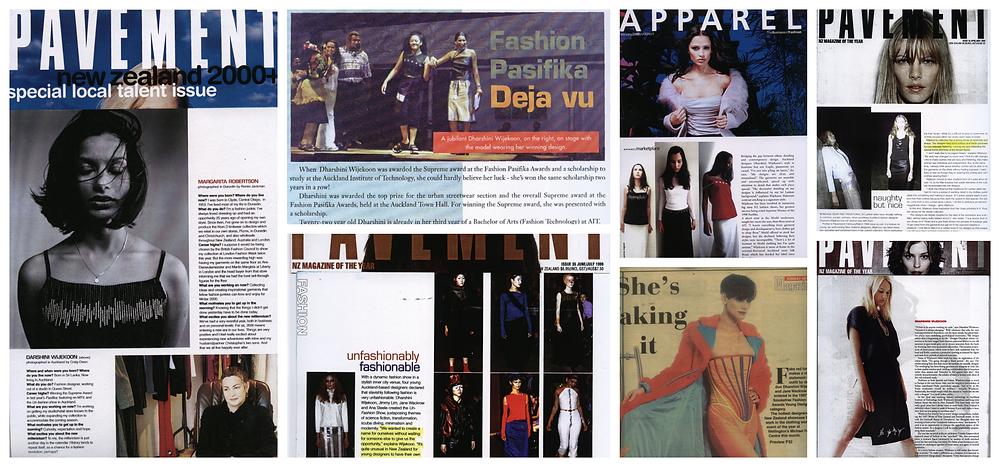 Dharshini Wijekoon, Auckland, New Zealand, Magazine articles, Pavement Magazine, Pasifika Fashion Show