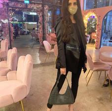Ayesha in Eternelle Blazer