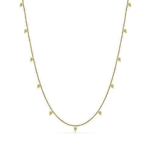 Gabriel & Co. - Kite Diamond Necklace
