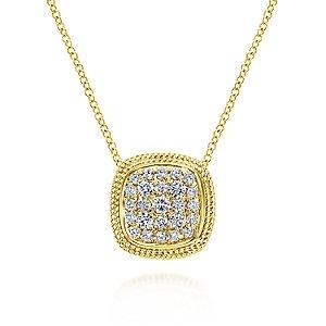 Gabriel & Co. - Hampton Diamond Necklace