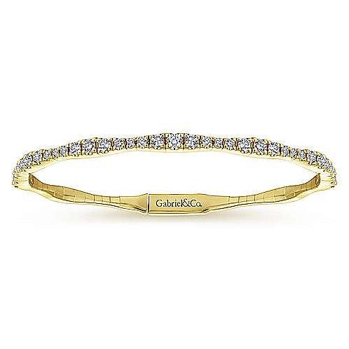 Gabriel & Co.- Diamond Bangle