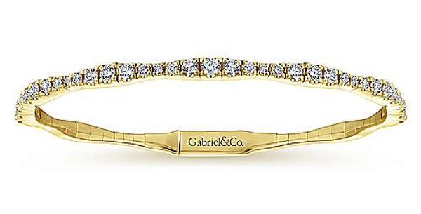 Gabriel & Co.- Diamond Bangle